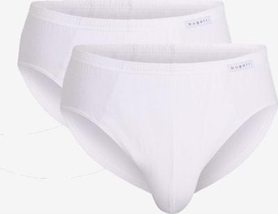 bugatti Herren Slips, 2er Pack in weiß, Produktansicht