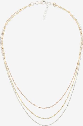 ORPHELIA Kette in gold / rosegold / silber, Produktansicht