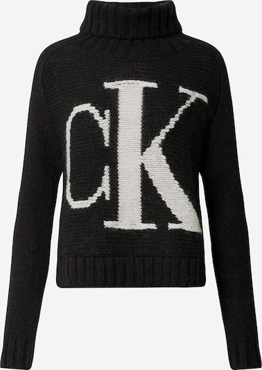 Calvin Klein Jeans Svetr - černá / bílá, Produkt