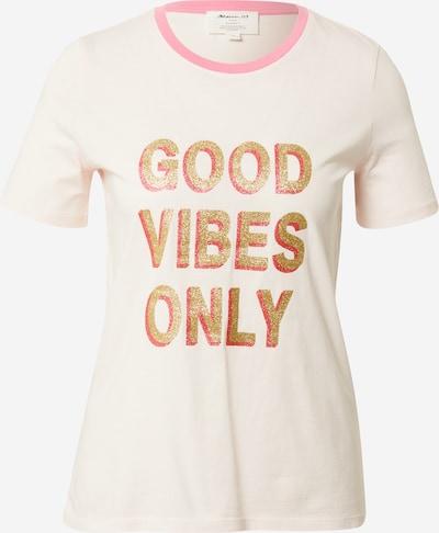 Maison 123 T-Shirt 'IGGY' in gold / pink / pastellpink, Produktansicht