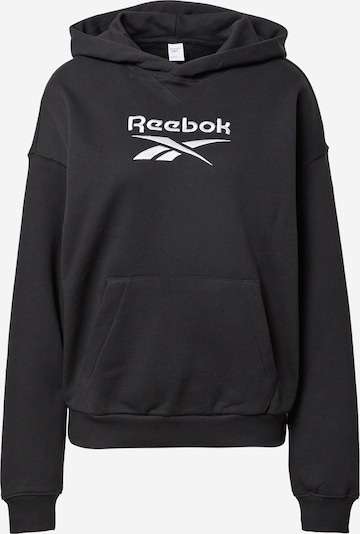 Reebok Classics Sweatshirt in Black / White, Item view