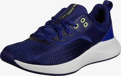 UNDER ARMOUR Sports shoe 'Charged Breathe' in Night blue / Sky blue / Yellow, Item view