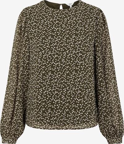 OBJECT Bluse 'MILA' in hellbraun / weiß, Produktansicht