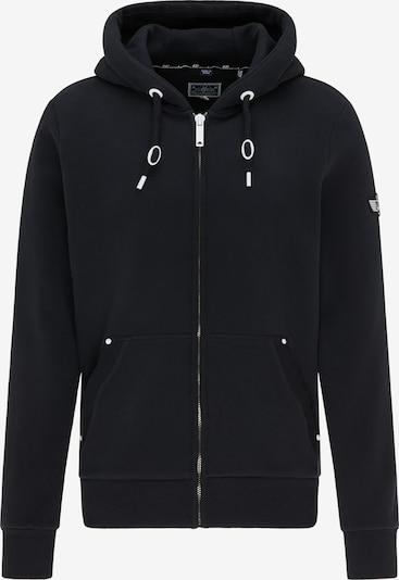 DreiMaster Maritim Sweatvest in de kleur Zwart, Productweergave