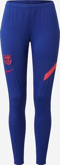 NIKE Sportovní kalhoty 'FC Barcelona Academy' - námořnická modř / červená, Produkt