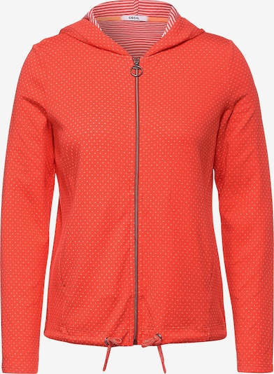 CECIL Jacke in orange / weiß, Produktansicht