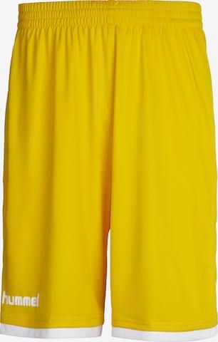 Pantalon de sport Hummel en jaune