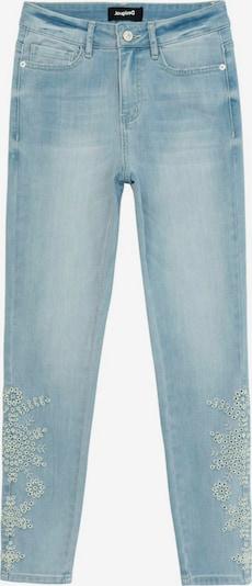 Desigual Jeans 'CROWN' i ljusblå / vit, Produktvy
