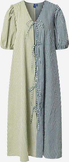 Résumé Dress 'Frankie' in Apple / Dark green / White, Item view