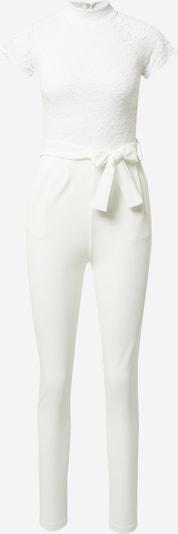 WAL G. Jumpsuit 'MACE' in weiß, Produktansicht