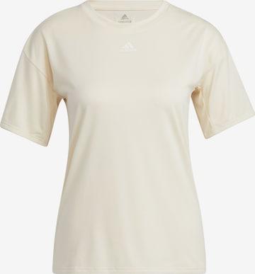ADIDAS PERFORMANCE Funksjonsskjorte 'TRNG 3S TEE' i hvit