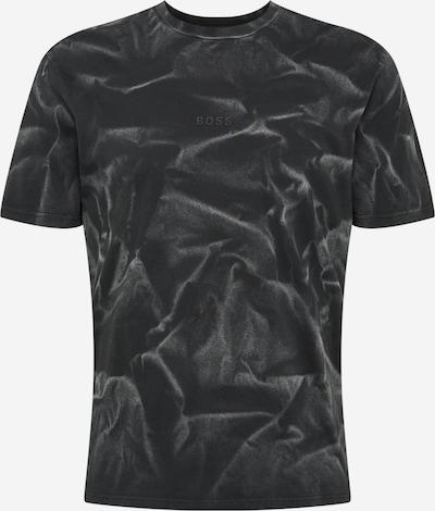 BOSS Casual T-Shirt 'Tsoil' en gris basalte / noir, Vue avec produit