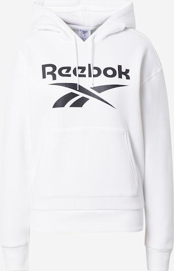 Reebok Sport Sportska sweater majica u crna / bijela, Pregled proizvoda