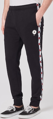 Champion Authentic Athletic Apparel teplákové nohavice 'Rib Cuff' v čiernej farbe