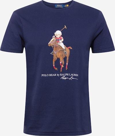 Polo Ralph Lauren T-Shirt in navy / braun / rot / weiß, Produktansicht