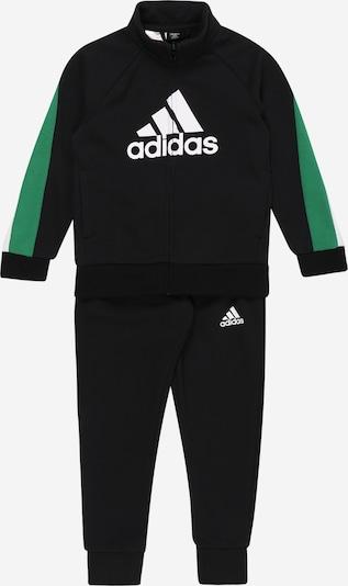 ADIDAS PERFORMANCE Chándal en verde / negro / blanco, Vista del producto