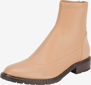Ekonika Ankle Boots 'ALLA PUGACHOVA' in Beige