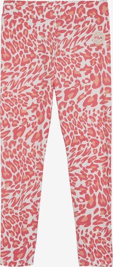 FILA Sportbroek 'Pearline' in de kleur Perzik / Pink / Wit, Productweergave