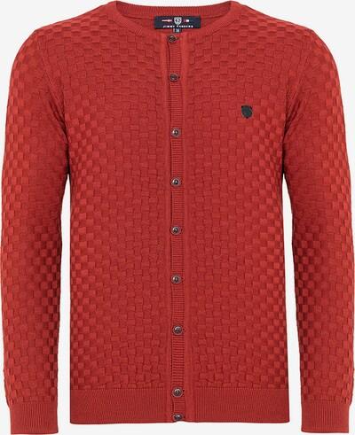 Jimmy Sanders Cardigan in rot, Produktansicht