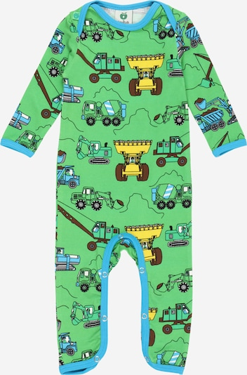 Småfolk Overall 'Machine' in Blue / Yellow / Green, Item view