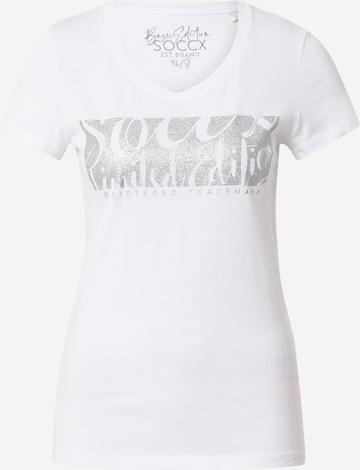 Tricou de la Soccx pe alb