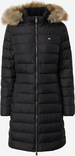 Tommy Jeans Wintermantel 'Essential' in de kleur Zwart, Productweergave