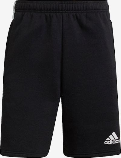 Sportinės kelnės 'Tiro' iš ADIDAS PERFORMANCE, spalva – juoda / balta, Prekių apžvalga