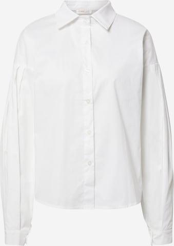 Femme Luxe Pluus, värv valge