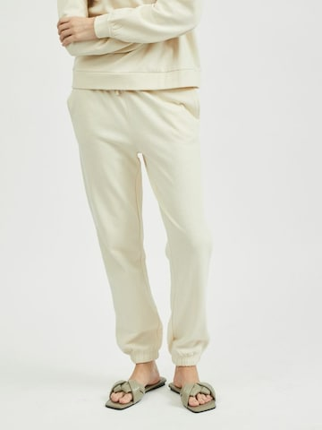 VILA Spodnie 'Rust' w kolorze beżowy