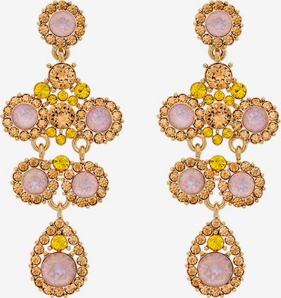 LILY AND ROSE Earrings 'Kate' in Yellow / Gold / Rose, Item view