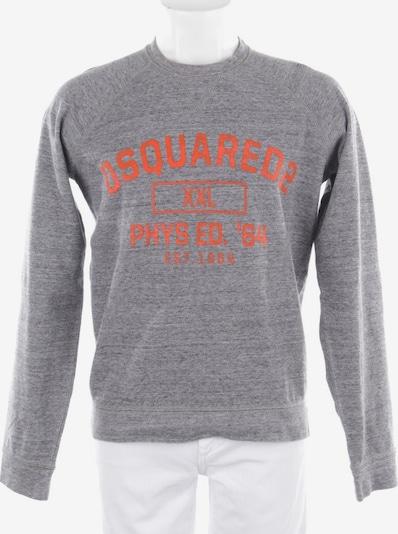 DSQUARED2  Sweatshirt in S in rauchblau / orange, Produktansicht
