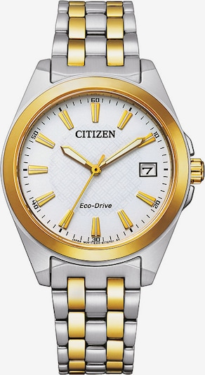 CITIZEN Uhr in gold / silber, Produktansicht