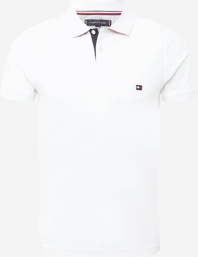 TOMMY HILFIGER Тениска в бяло: Изглед отпред