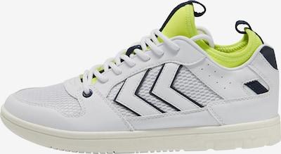Hummel Sneaker Low in gelb / schwarz / weiß, Produktansicht