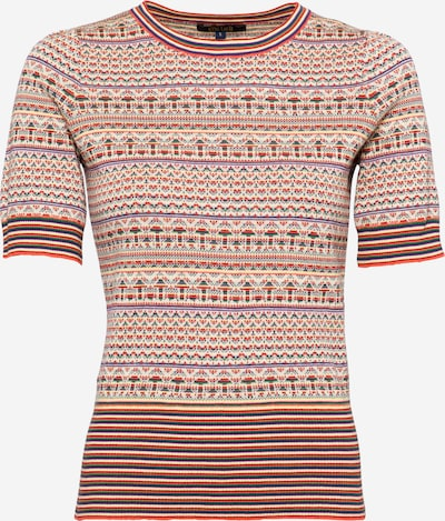 King Louie Shirt 'Agnes' in de kleur Gemengde kleuren / Knalrood, Productweergave