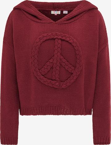 IZIA Pullover in Red