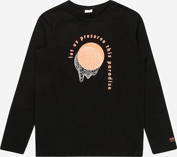T-Shirt s.Oliver en noir