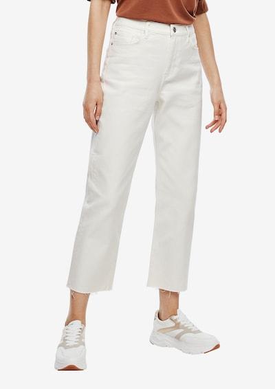 s.Oliver Jeans in weiß, Modelansicht