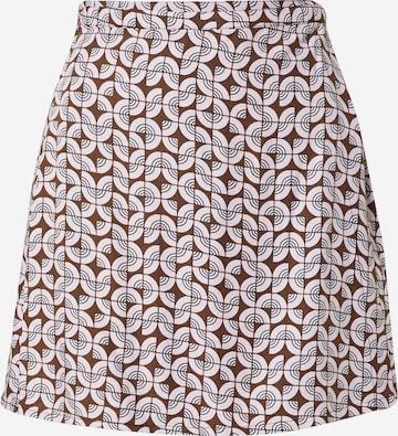 Motel Skirt 'Volto' in Brown