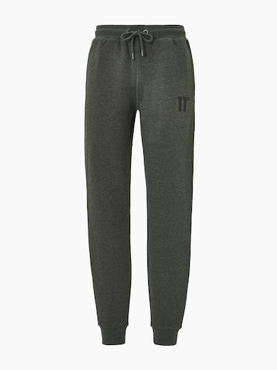 11 Degrees Pantalon 'CORE' en kaki / noir, Vue avec produit