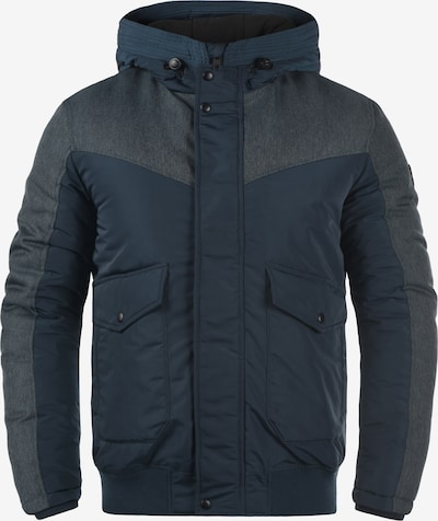 !Solid Winterjacke 'Inacio' in blau, Produktansicht