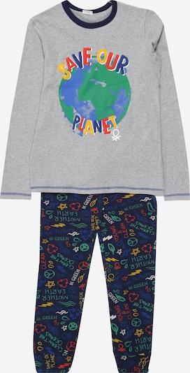 UNITED COLORS OF BENETTON Pyžamo - námornícka modrá / sivá, Produkt