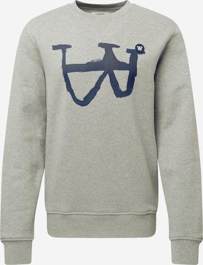WOOD WOOD Sweatshirt 'Tye' in dunkelblau / grau, Produktansicht