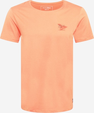 TOM TAILOR DENIM Tričko - tmavě modrá / jasně oranžová, Produkt
