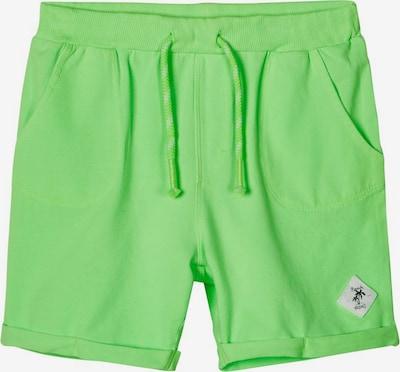 NAME IT Sweatshorts in grün, Produktansicht