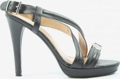 Armani Jeans High Heel Sandaletten in 40 in schwarz, Produktansicht