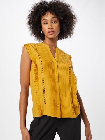 Pepe Jeans Bluse 'ISLA' i gul