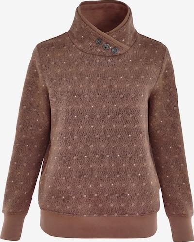 Navigazione Sweatshirt in braun, Produktansicht