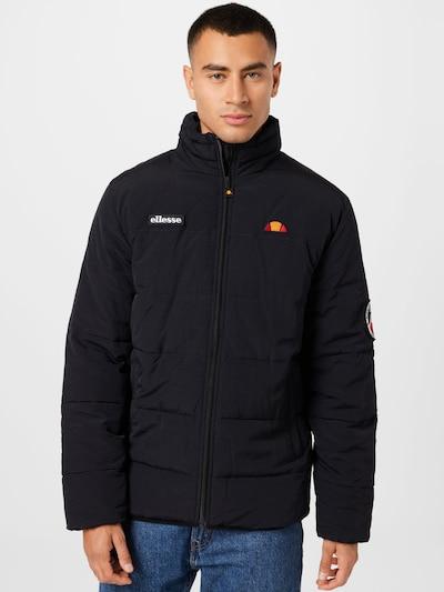 ELLESSE Jacke in orange / rot / schwarz / weiß: Frontalansicht