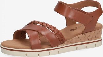 CAPRICE Sandale in karamell, Produktansicht